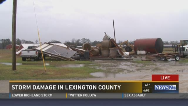 Storm Damage In Lexington County