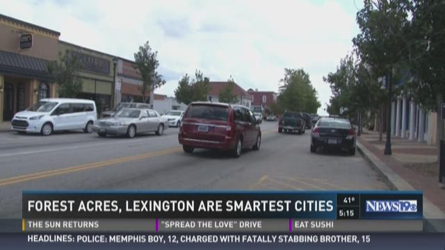 Two Midlands Cities Make 'Smartest' List in SC