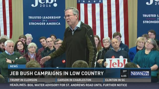 Jeb Bush Speaks in Bluffton