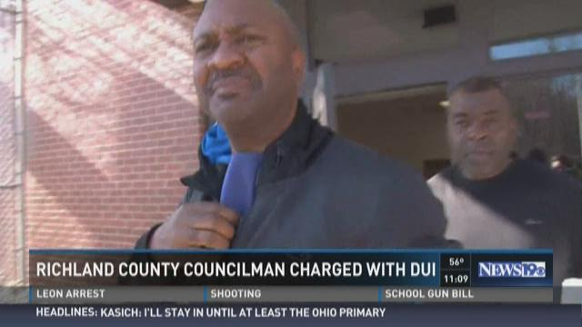 Richland County Councilman Charged with DUI