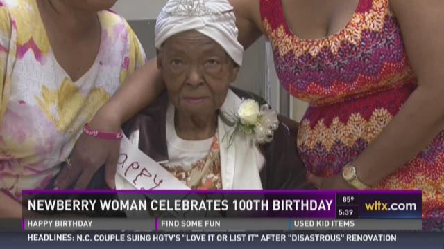 Newberry Woman Celebrates 100th Birthday