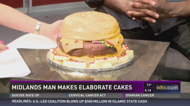 Midlands Man Makes Elaborate Cakes
