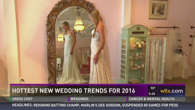 Hottest New Wedding Trends for 2016