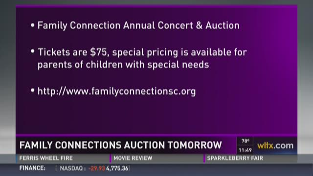 Family Connections Auction Tomorrow