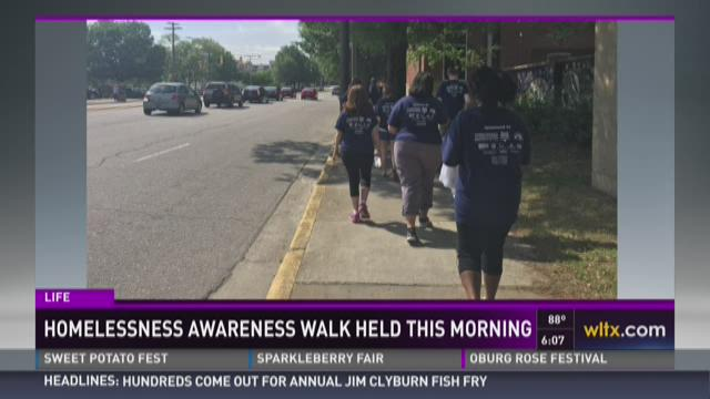 Homeless Awareness Walk Held Saturday