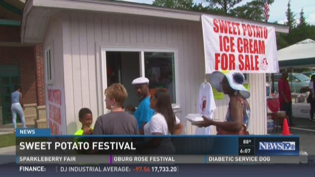 Hundreds Enjoy Sweet Potato Festival