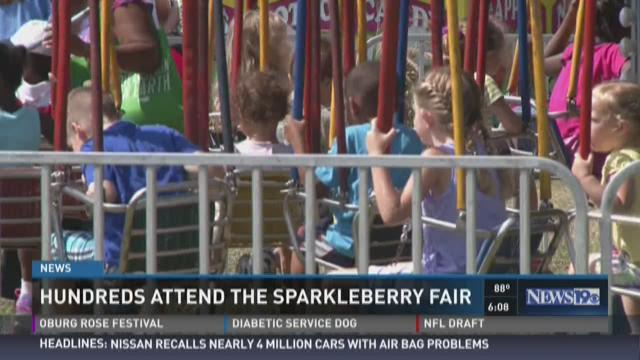 Hundreds Attend the Sparkleberry Country Fair