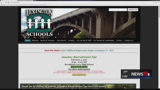 Data Breach At Lexington School District 2   wltx.com