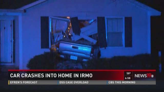 Car Crashes Into Irmo Home