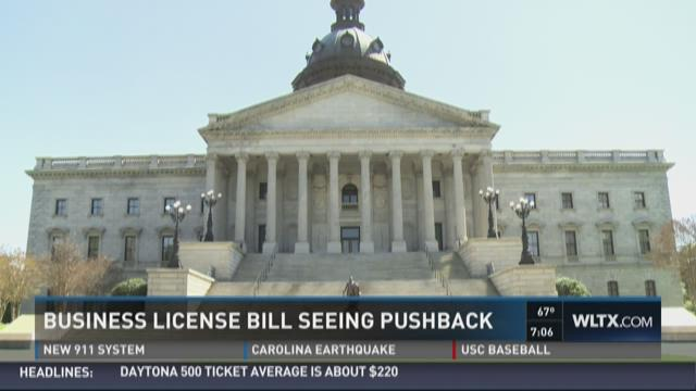 Business License Bill Getting Pushback