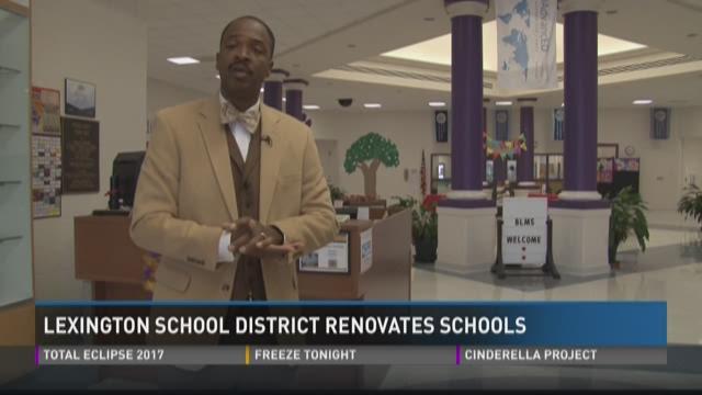 Lexington School District Renovates Schools   wltx.com