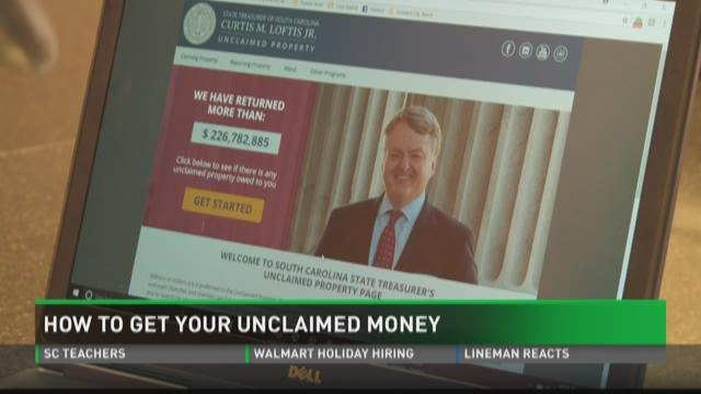 how to get unclaimed money from the government