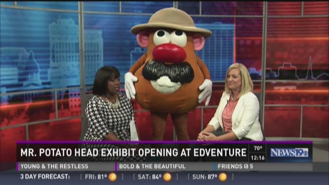 Mr. Potato Exhibit Opens at Edventure