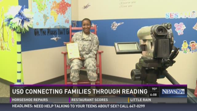USO Connecting Families Through Reading