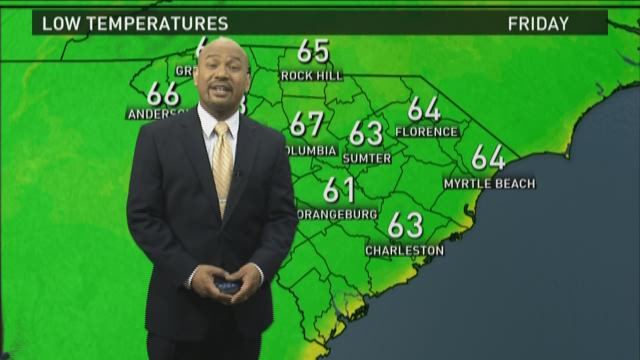 Friday Forecast with Efren Afante