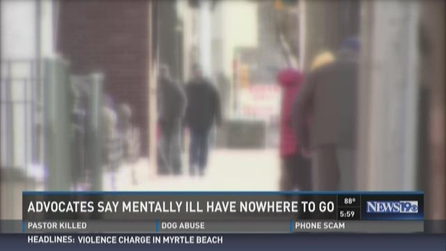 Advocates Say Mentally Ill Have Nowhere to Go
