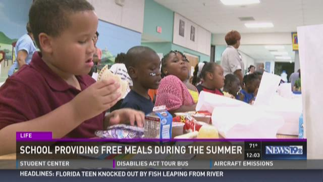 Schools Providing Free Meals This Summer