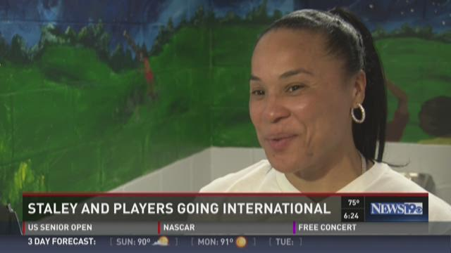 Staley and Players going International