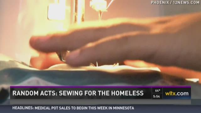 Random Act of Kindness: Sewing for the Homeless
