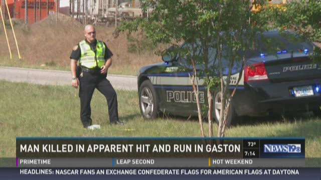Man Killed in Apparent Hit and Run in Gaston