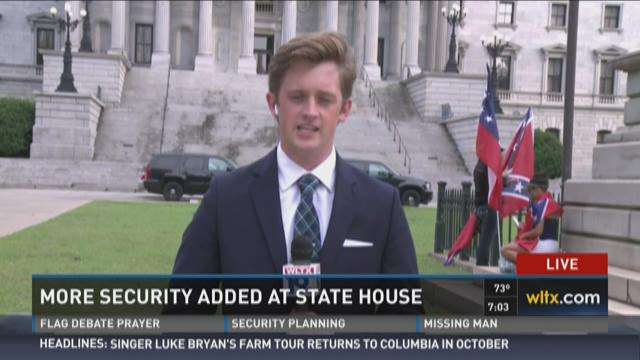 More Security Added at State House