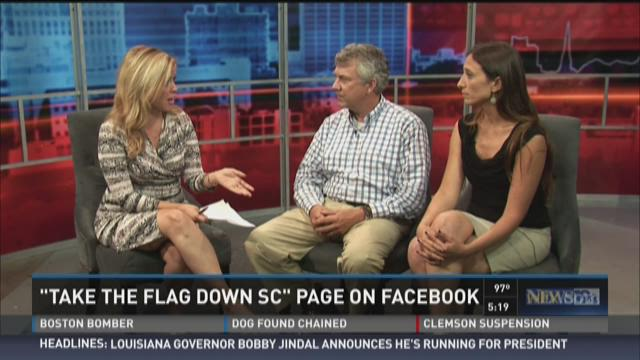 'Take Down the Flag' Page on Facebook