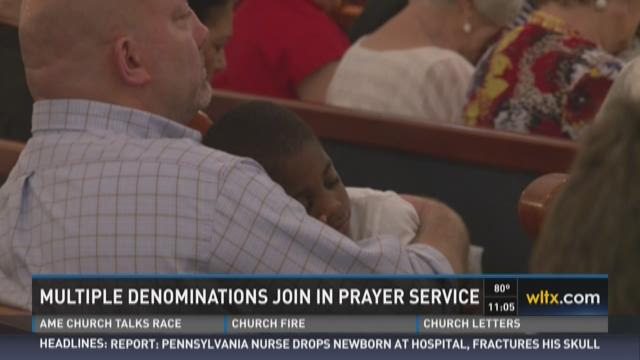 Multiple Denominations Join In Prayer Service