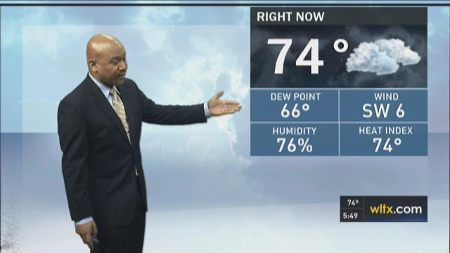 Efren Afante Thursday Forecast
