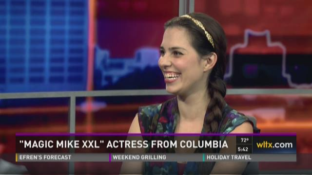 """Magic Mike"" Actress Proud to Call Columbia Home"