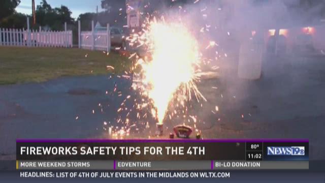 Tips For Fireworks Safety