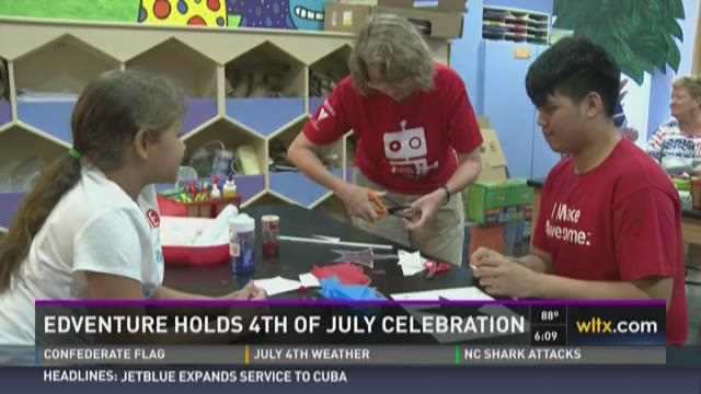 EdVenture Holds 4th of July Celebration