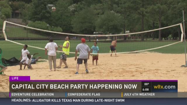 Capital City Beach Party at Finlay Park