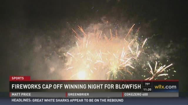 Blowfish Win on July 4th