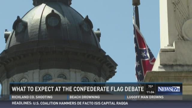 What to Expect at the Confederate Flag Debate