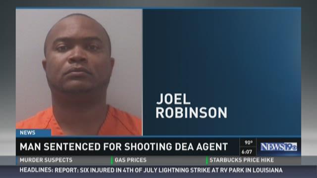 Man Sentenced for Shooting DEA Agent