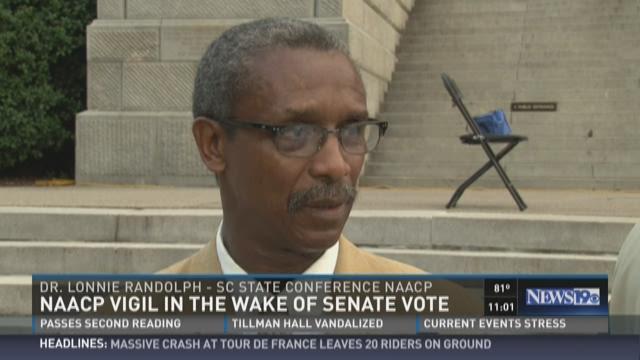 NAACP Vigil in the Wake of Senate Vote
