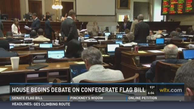 House to Take Up Confederate Flag Bill