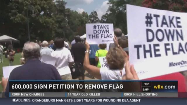 600,000 Sign Petition to Remove Flag