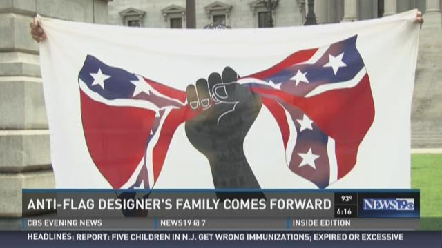 Anti-flag Designer's Family Comes Forward