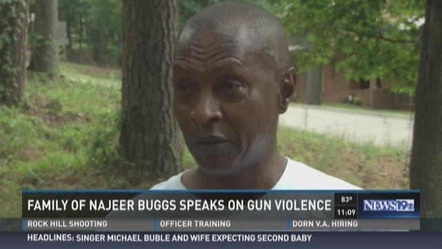 Family of Najeer Buggs Speaks On Gun Violence