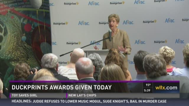 Duckprints Awards Given Friday