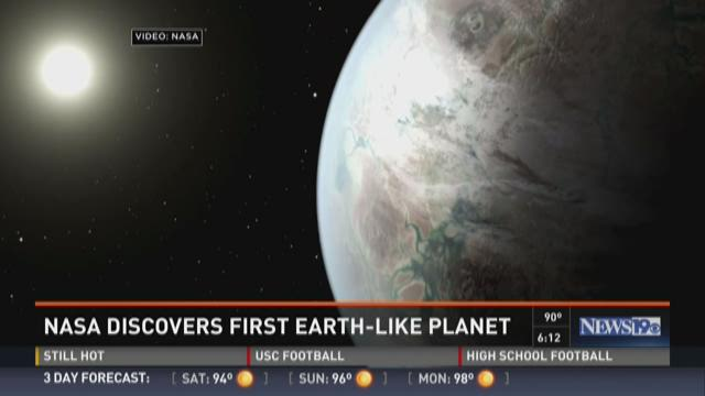 NASA Discovers First Earth-Like Planet