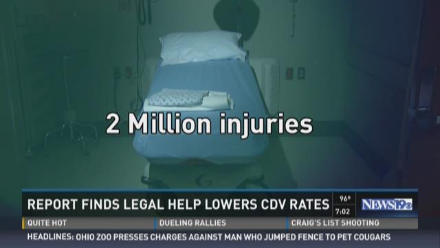 Report Finds Legal Help Lowers CDV Rates