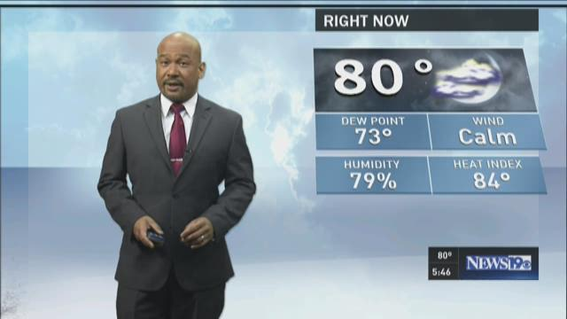 Efren Afante Tuesday Forecast