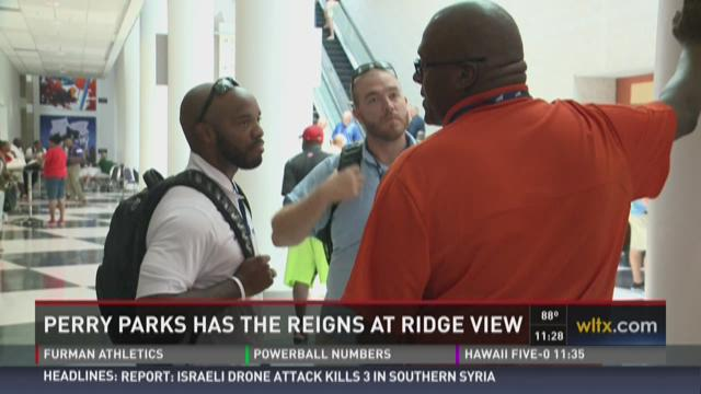Perry Parks Talks Ridge View Football