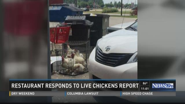 Sumter Restaurant Responds To Live Chicken Report