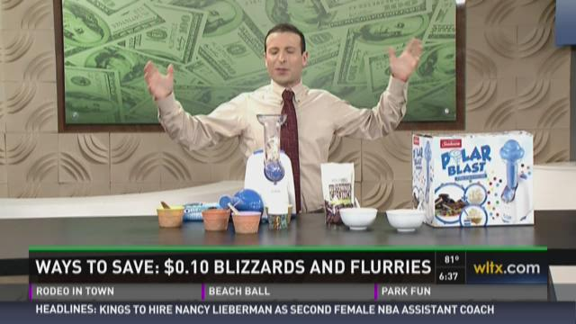 How to enjoy Blizzards and Flurries for $0.10