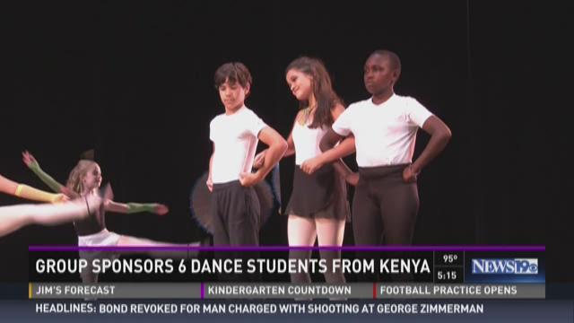Group Sponsors Six Dance Students From Kenya