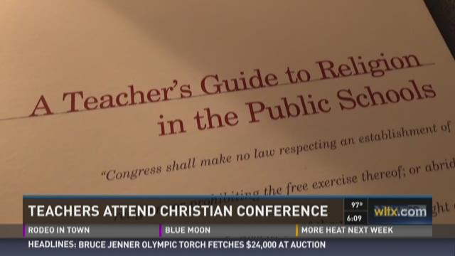 Teachers Attend Christian Conference