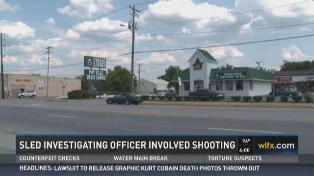 SLED Investigating Officer Involved Shooting
